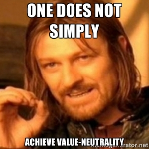 value neutrality