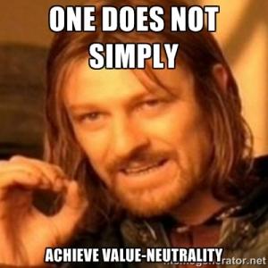 value neutrality